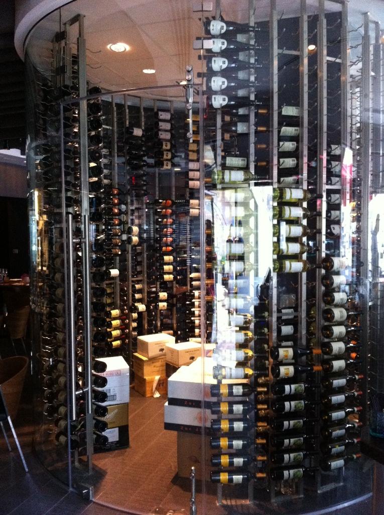 Commercial custom wine cellars miami toscano divino for Cost to build a wine cellar