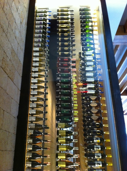 custom-wine-cellars-south-florida-side-high-milos & Commercial Wine Cellars Milos Wine Display Miami Florida : Wine ...