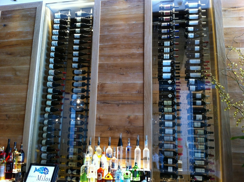 Commercial Wine Cellars Milos Wine Display Miami Florida Wine Cellar International