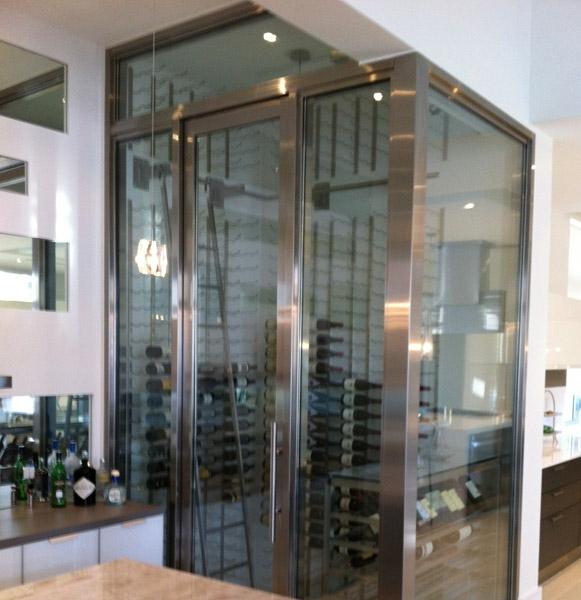 Residential Custom Wine Cellars Coral Gables Florida Mc