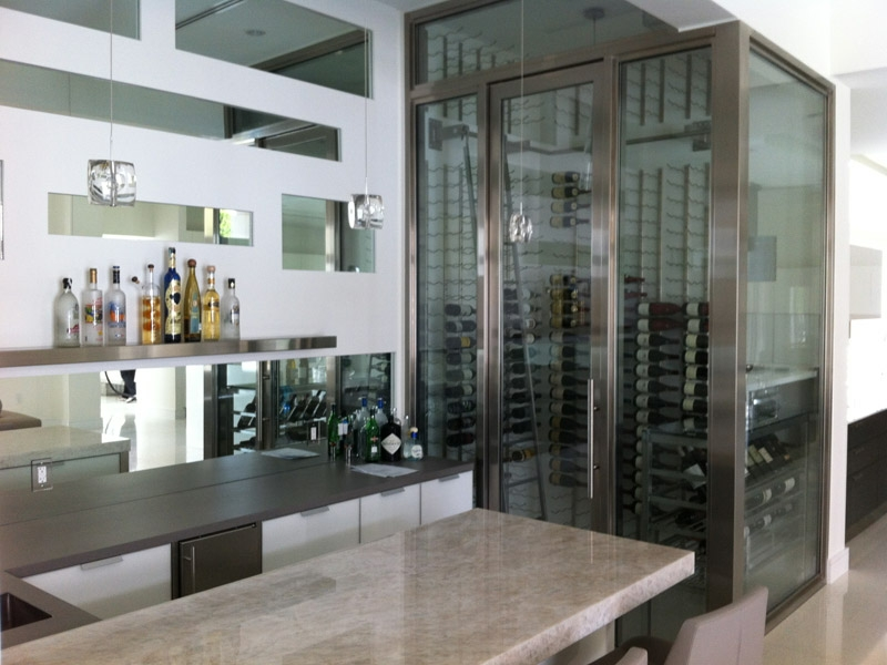 Modern Wine Rooms Coral Gables South Florida Mc