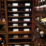 Horizontal Display Rows Custom Wine Cellars Florida S.M. Collection