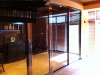 Glass Wine Room Door South Florida