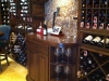 Wine Tasting Area Residential Custom Built Wine Room, Boynton Beach