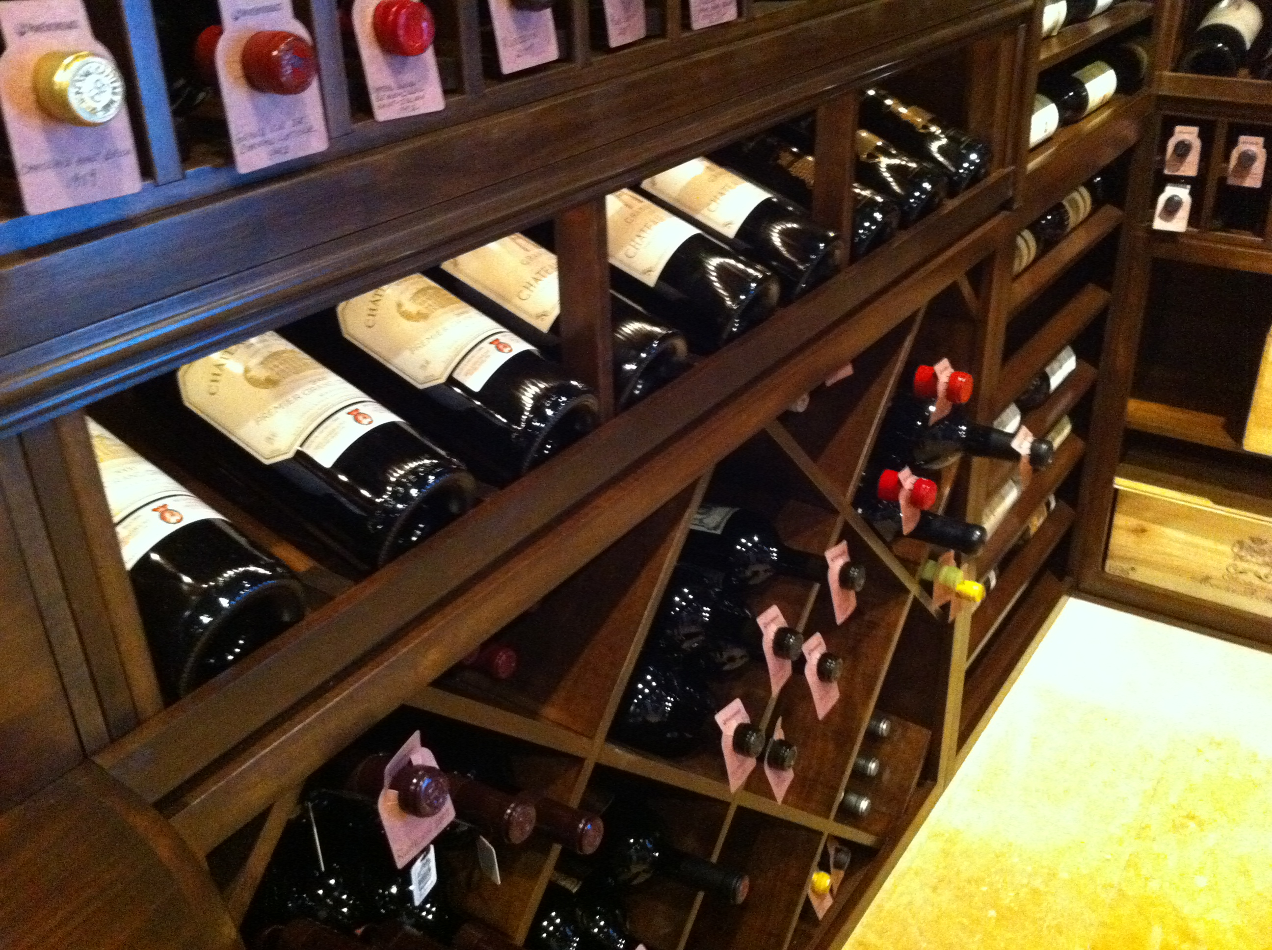 Residential Custom Wine Cellars South Florida Wood Wine Racking & Custom Wine Cellars South Florida u2013 S.M. Private Residential ...