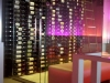 Commercial Wine Rooms Metal Wine Racks, Spazios Restaurant Wine Cellar Metal Racks