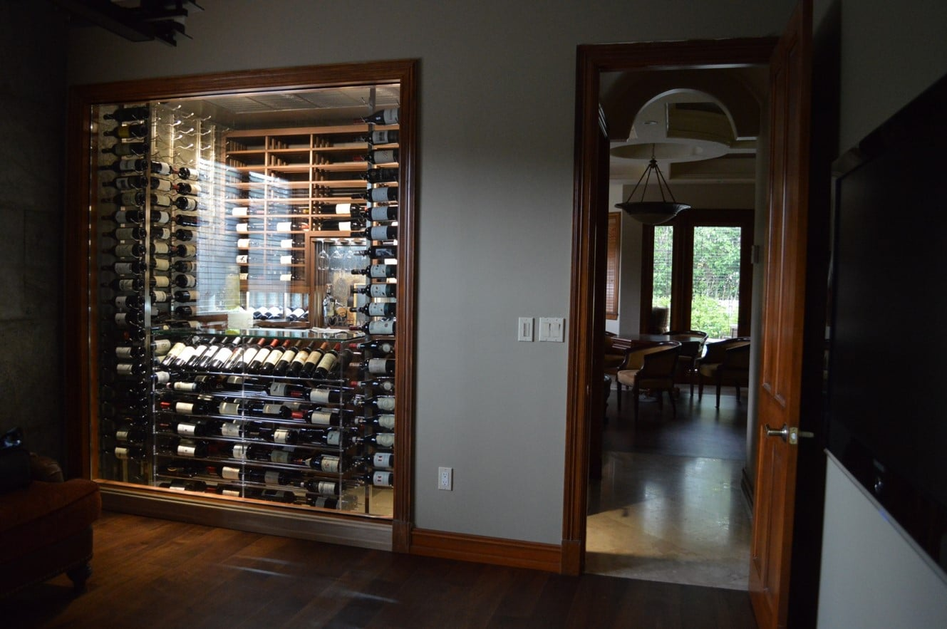 Custom Wine Cellars North Miami Aventura Florida Project