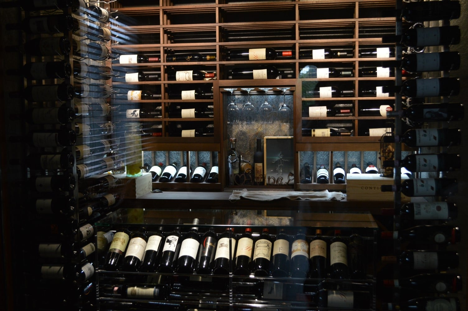 Custom wine cellars north miami aventura florida project for Wine cellar layout