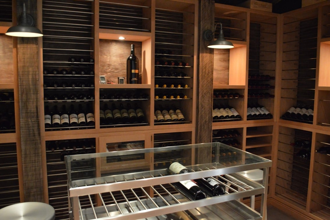 Make her husbands dream wine room a reality - Miami Project & Design Consultant Installation Residential Wine Cellar South Miami ...