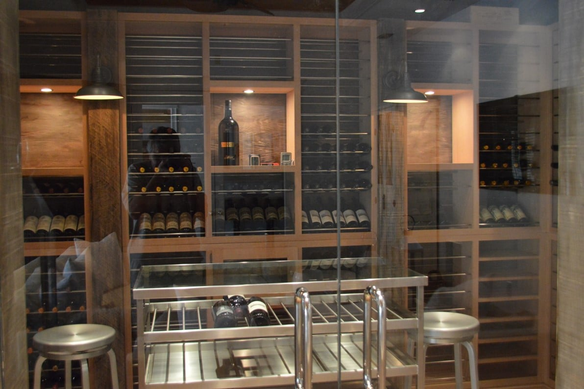 Wine cellar design full size of closet storagehome wine for Wine cellar layout